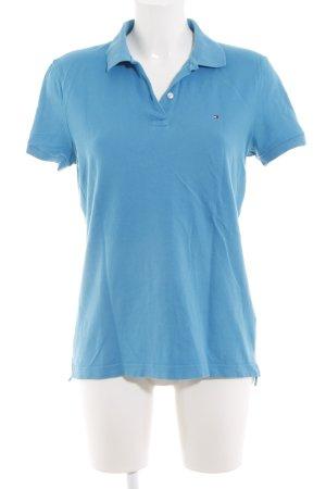 Tommy Hilfiger Polo-Shirt blau Casual-Look