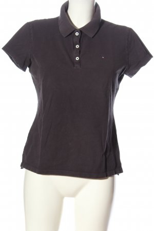 Tommy Hilfiger Polo-Shirt schwarz Casual-Look