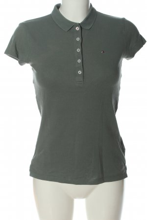 Tommy Hilfiger Polo-Shirt hellgrau Casual-Look