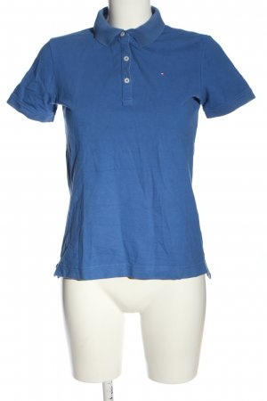 Tommy Hilfiger Polo shirt blauw casual uitstraling