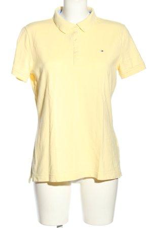 Tommy Hilfiger Polo-Shirt blassgelb Elegant