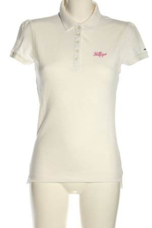 Tommy Hilfiger Polo-Shirt weiß Casual-Look