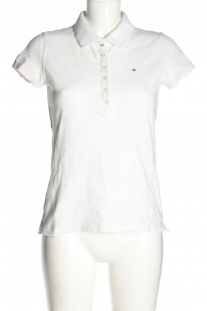 Tommy Hilfiger Polo shirt wit casual uitstraling