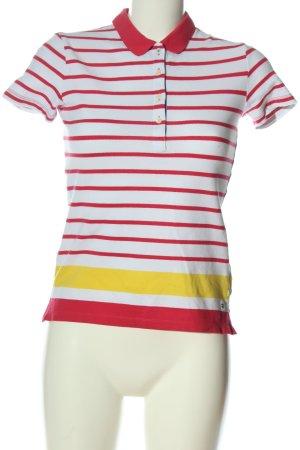 Tommy Hilfiger Camiseta tipo polo estampado a rayas look casual