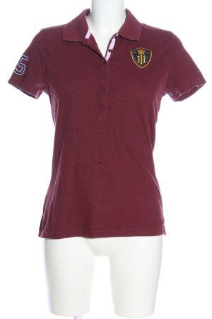 Tommy Hilfiger Polo-Shirt rot schlichter Stil
