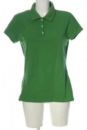 Tommy Hilfiger Camiseta tipo polo verde look casual