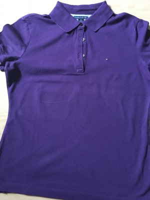 Tommy Hilfiger Polo Shirt in lila