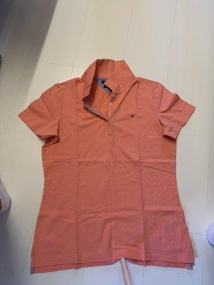 Tommy Hilfiger, Polo Shirt, orange, Größe XL
