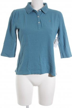 Tommy Hilfiger Polo-Shirt petrol Casual-Look