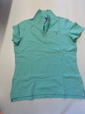 Tommy Hilfiger Polo vert menthe-turquoise