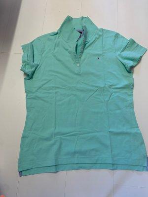 Tommy Hilfiger, Polo Shirt, sind grün, Größe XL