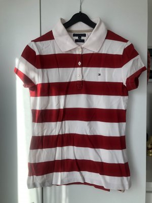 Tommy Hilfiger Polo rouge-blanc