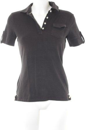 Tommy Hilfiger Polo-Shirt taupe klassischer Stil