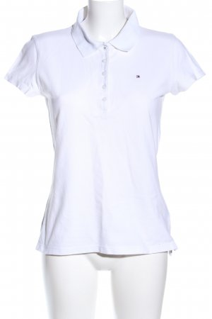 Tommy Hilfiger Camiseta tipo polo blanco look casual
