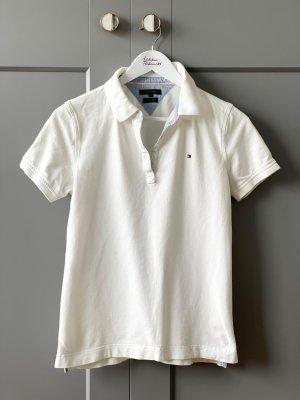 Tommy Hilfiger Polo-Shirt weiß Größe M wie neu