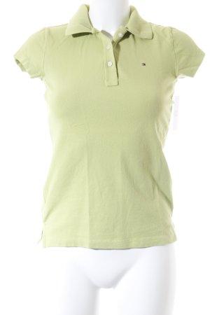 Tommy Hilfiger Polo-Shirt wiesengrün Business-Look