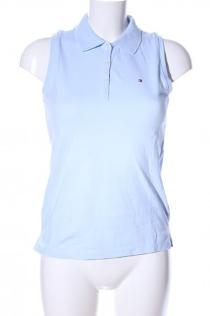 Tommy Hilfiger Top Polo blu stile casual