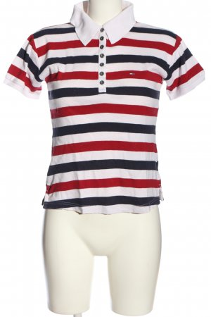 Tommy Hilfiger Polo Top striped pattern casual look