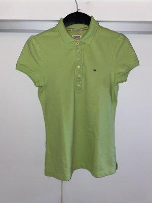 Tommy Hilfiger Polo shirt grasgroen