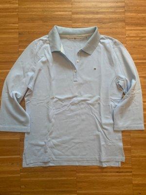 Tommy Hilfiger Poloshirt 3/4 Arm Grösse XL hellblau