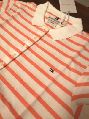 Tommy Hilfiger Poloshirt Breton/White Gr.S neuwertig!