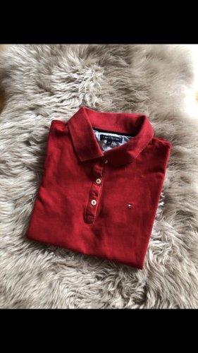 Tommy Hilfiger Koszulka polo głęboka czerwień