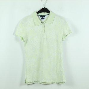 Tommy Hilfiger Poloshirt Gr. M grün gemustert (20/07/053*)