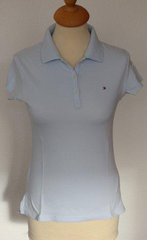 Tommy Hilfiger Poloshirt Gr. S hellblau (slim fit)