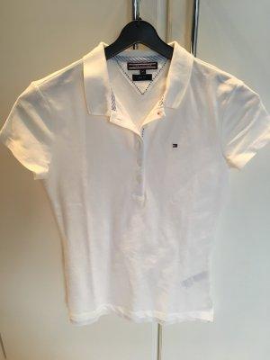 TOMMY HILFIGER - Poloshirt in weiß