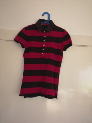 TOMMY HILFIGER Poloshirt Slim Fit gestreift