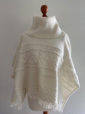 Tommy Hilfiger Wełniany sweter w kolorze białej wełny-kremowy