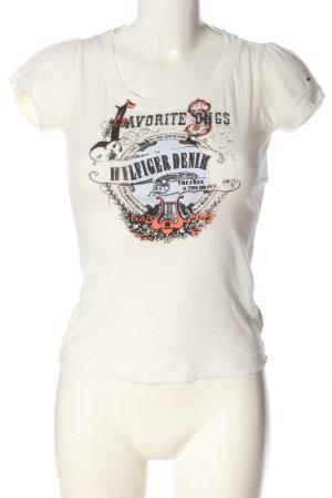 Tommy Hilfiger Print-Shirt Motivdruck Casual-Look