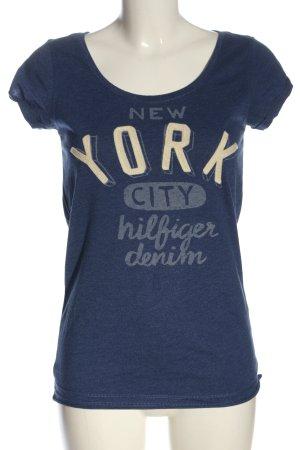 Tommy Hilfiger Koszulka z nadrukiem Wydrukowane logo W stylu casual