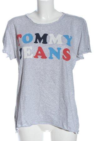 Tommy Hilfiger Koszulka z nadrukiem Melanżowy W stylu casual