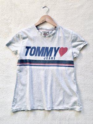 Tommy Hilfiger Print Shirt grau Gr. S