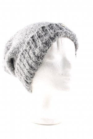 Tommy Hilfiger Bobble Hat light grey flecked casual look
