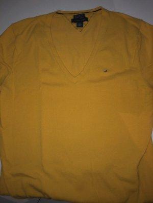 Tommy Hilfiger Maglione lavorato a maglia giallo pallido-giallo chiaro