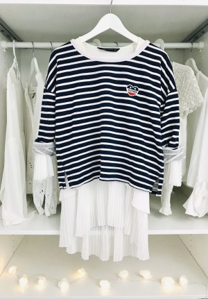 Tommy Hilfiger Crewneck Sweater white-dark blue