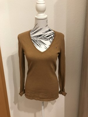 Tommy Hilfiger V-Neck Sweater brown
