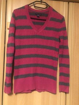 Tommy Hilfiger V-Neck Sweater pink