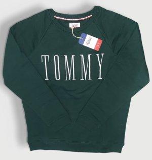 Tommy Hilfiger Denim Maglione lungo verde scuro