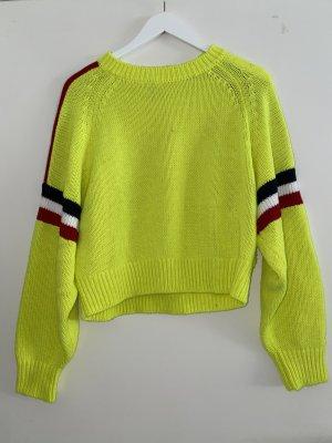 Tommy Hilfiger Pull tricoté multicolore laine