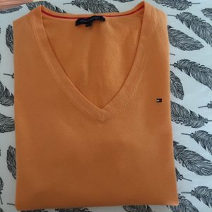 Tommy Hilfiger V-Neck Sweater orange