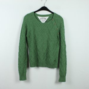 Tommy Hilfiger Denim Cable Sweater green mixture fibre