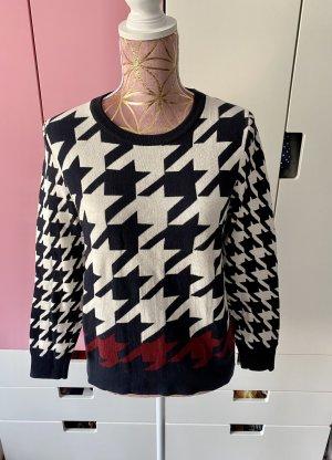 Tommy Hilfiger Pullover Pullover blau weiß bordeaux rot Größe S