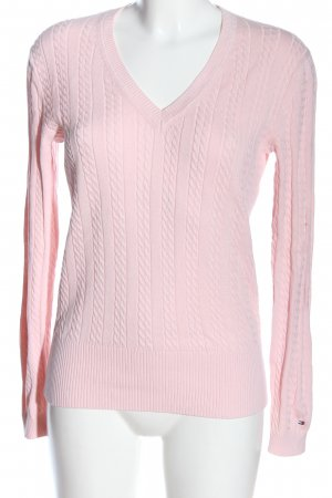 Tommy Hilfiger Pullover rosa Casual-Look