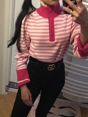 Tommy hilfiger Pullover Strickpullover Sweaters rosa gestreifter