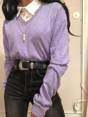 Tommy Hilfiger Pull en maille fine violet