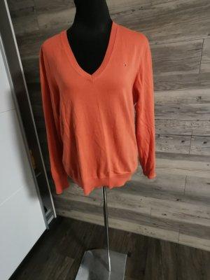 Tommy Hilfiger V-Neck Sweater orange