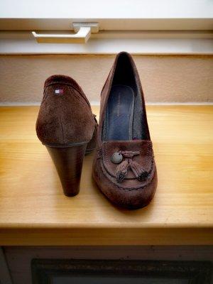 Tommy Hilfiger Zapatos Informales marrón oscuro